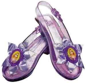 Rapunzel Sparkle Shoe Disney Princess Tangled Halloween Child Costume Accessory