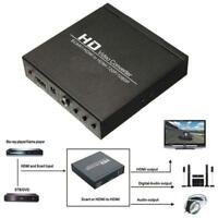 SCART/HDMI to HDMI 720P 1080P HD Video Converter Adapter Monitor Box For DVD XI