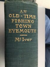 More details for an old time fishing town eyemouth - scotland st abbs fishing disaster - signed