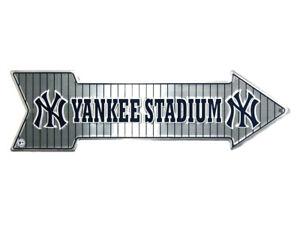 New York NY Yankee Stadium MLB Arrow Street Aluminum Wall Man Cave Sign