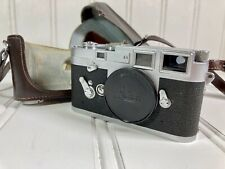 Leica M3 Double Stroke 35mm Rangefinder Film Camera Body Chrome