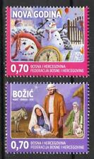 Bosnia / Mostar 2012 Christmas and New Year MNH**