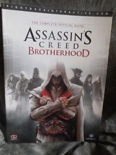 Video Game Assassin's Creed Brotherhood Complete Offical Guide Paperback w/map