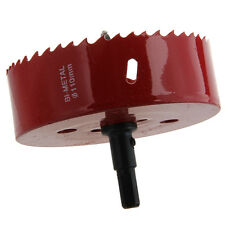 Aluminum Alloy Iron Cutting 110mm Dia Bimetal Hole Saw BF