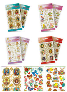 Easter Egg Decoration Stickers 11 different designs