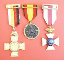 ORIGINAL SPANISH CIVIL WAR MEDAL GROUP INCLUDING A VERY RARE PEACE MEDAL 1936