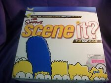 THE SIMPSONS SCENE IT? The DVD Game New  Homer Bart Lisa FOX TV Matt Groening