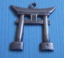 Vintage torii gate sterling charm
