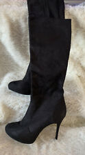 NEW LOOK Sexy Knee Length Suede Boots  Size 9/43