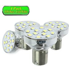 4 Pack LeisureLED RV LED Light 1156 1139 1141 1383 LED Bulb 2 Watt 275 Lumen CW