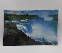 NIAGARA FALLS Vintage Souvenir 2-Sided PLACEMAT Laminated Color Photo Prints USA