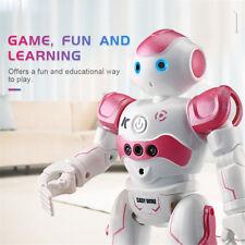 RC Remote Control Robot Smart Action Walk Dancing Gesture Sensor Toy Gift Pink