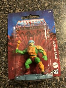 Mattel Masters Of The Universe Micro Collection Man At Arms GYD72