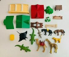Playmobil Geobra Mixed Animal and Building Lot USED