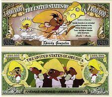 Speedy Gonzales - Looney Tunes Cartoon Character Million Dollar Novelty Money