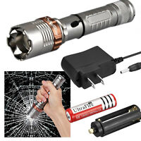 20000lm Emergency G700 CREE LED Tactical Flashlight Military Grade Torch