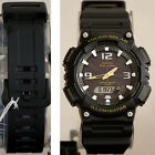 Casio Model SOLAR POWER World Time 5 Alarms 100m Watch AQ-S810W-1BV New