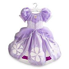 Disney Store Sofia the First Costume Dress Kids Purple $45 Size 9/10 J21 NWT