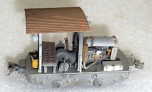 On3 - Small Industrial Locomotive - Nicely detailed