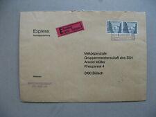 SWITZERLAND, railway expresse cover 1977, pair Sfr 1,70 Roman capital