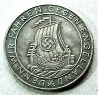 WW2 GERMAN COMMEMORATIVE COLLECTORS REICHSMARK COIN '40