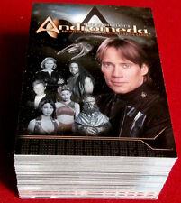 Gene Roddenberry's ANDROMEDA - COMPLETE BASE SET (90 cards) - Inkworks 2001