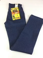 NWT Wrangler Pro Rodeo Competition Cowboy Cut Denim Blue Jeans Mens Sz. 32x38