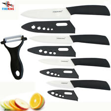 FINDKING Couteaux En Céramique set 3′ 4′ 5′ 6′ pouces + Éplucheur