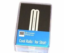11205-08-W Seymour Duncan White Cool Rails Bridge Pickup For Strat SCR-1b