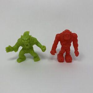 2 Rare Series 1 Monster Pocket MIMP 13 Red Frankenstein 24 Green Windigo