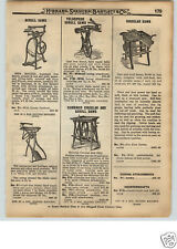 1922 PAPER AD New Rogers Iron Scroll Saw Pedal Bicycle Type Lathes Foot Mortiser