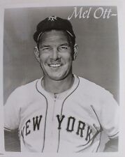 VINTAGE Mel Ott (d.1958) HOF New York Giants 8x10 Unsigned File Photo 16F
