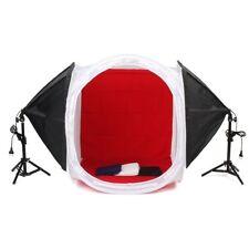 MVPOWER Kit de Mini Studio Photo Tente Cubique Pliable 80cm/80cm/80cm