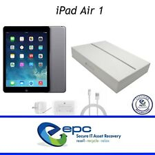 """Apple iPad Air 1 A1474 Space Gray 32GB WiFi 9.7"""" - Milled Casing 