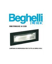 Beghelli 4609 Lampada emergenza Fruttoluce 6 LED Universale