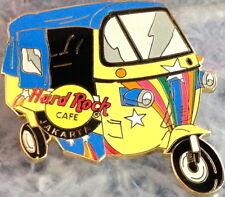 Hard Rock Cafe JAKARTA 2001 TUK-TUK (3 Wheeled Bus) PIN LE500 HRC Catalog #18726