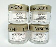 2 Lancome  Absolue Premium Bx Day Cream Spf 15 And /2 Night Cream ~ 15 g x 4