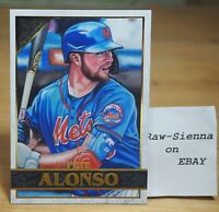 2020 Topps Gallery Canvas Pete Alonso #91 New York Mets (ᵔᴥᵔ)