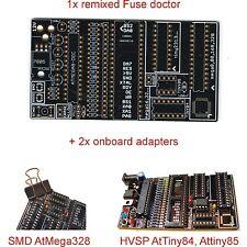 Bare PCB AVR Atmega, AtTiny fuse bit doctor HVPP HVSP fix restore factory repair