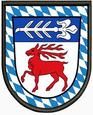 Wappen von Polling (bei Mühldorf am Inn) Aufnäher ,Patch Pin, Aufbügler