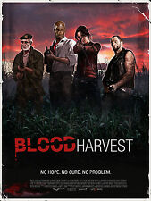 LEFT 4 DEAD LAMINATED MINI A4 POSTER PRINT BLOOD HARVEST