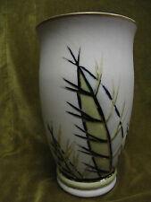 "Limoges porcelain C Taraud vase 1960's ""Cactus"" height 22,4cm"