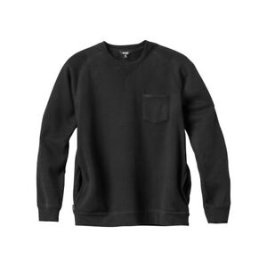 Enjoi Skateboard Crew Sweatshirt Pole Jam Vintage Black