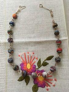 Edwardian Glass Bead Necklace