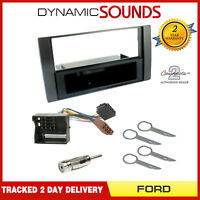 CT24FD29 Car Stereo Single Din Fascia Facia Fitting Kit For Ford Fiesta 2006 On