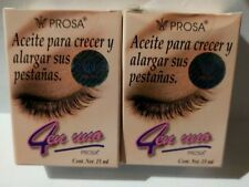 2 PROSA OIL FOR EYELASHES , para crecer y alargar sus pestañas ,