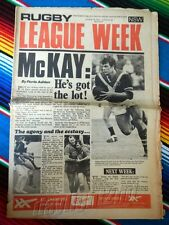 ✺RUGBY LEAGUE WEEK✺ 1975 Vol 6 No 24 EASTERN SUBURBS ROOSTERS NRL Big Magazine