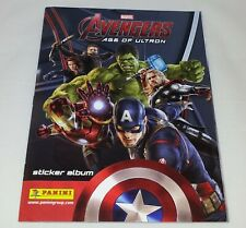 Avengers : Age Of Ultron : Panini Sticker Album : 100% Complete