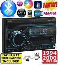 1994-2000 FORD MUSTANG AM/FM BLUETOOTH AUX USB/SD EQ CAR RADIO STEREO PKG