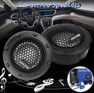 ALPINE DDT-S30 Car Stereo Speakers Music Soft Dome Balanced Car Tweeters 360W/AU
